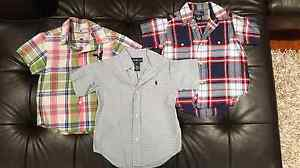 Boys clothes - Polo Ralph Lauren shirts - size 3 Stafford Brisbane North West Preview