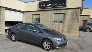 2013 Honda Civic LX Bluetooth, Heated Seats, Cruise Control
