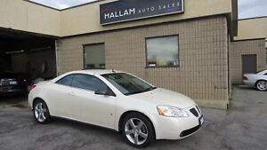 2008 Pontiac G6 GT Convertible, Black Leather Interior