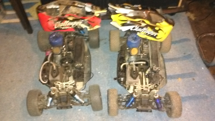 Nitro rc buggy and spares