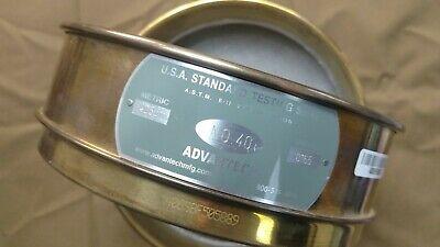 Advantech Usa Standard Testing Sieve No 40 .0165