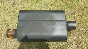 """FLOWMASTER 2.5"""" MUFFLER X 2   SUIT MUSTANG, CHEVY, V8 Arundel Gold Coast City Preview"""