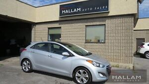 2014 Hyundai Elantra GT GLS Panoramic Sunroof, Black Leather...