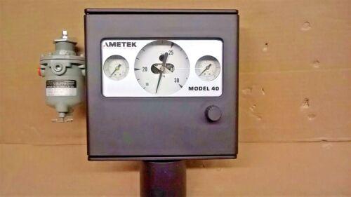 AMETEK Model 40 Pressure Controler Model 21TJ5120-5275ACADBL