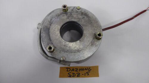 Dazhong SDZ-15 Used Electromagnetic Brake 15NM Torque 126VDC SDZ15 50W