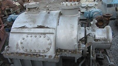 General Electric Steam Turbine 3000hp 7797 Rpm 42.0 Lbsq Inch Absolute 350f
