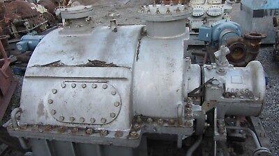 General Electric Steam Turbine 3000hp 7797 Rpm 42.0 Lbsq Inch Absolute 350f