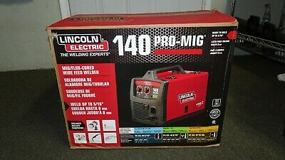Lincoln Electric 140 Pro Mig Flux Corded Wire Feed Welder