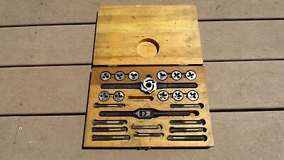 Blue-point Snap-on 1 Double Hex Self-centering Td-10a Tap Die Set Complete