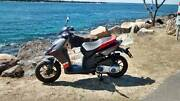 2014 SEMI NEW APRILIA. Model SR MT125. Rego Until 17/03/2018 Surfers Paradise Gold Coast City Preview