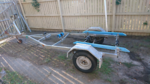 Galvanised boat trailer to suit from 3.8 to 4.3 tinny or dinghy Deception Bay Caboolture Area Preview