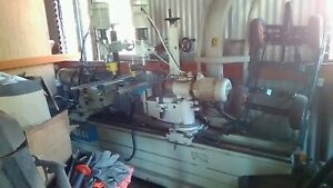 Ruling boring machine