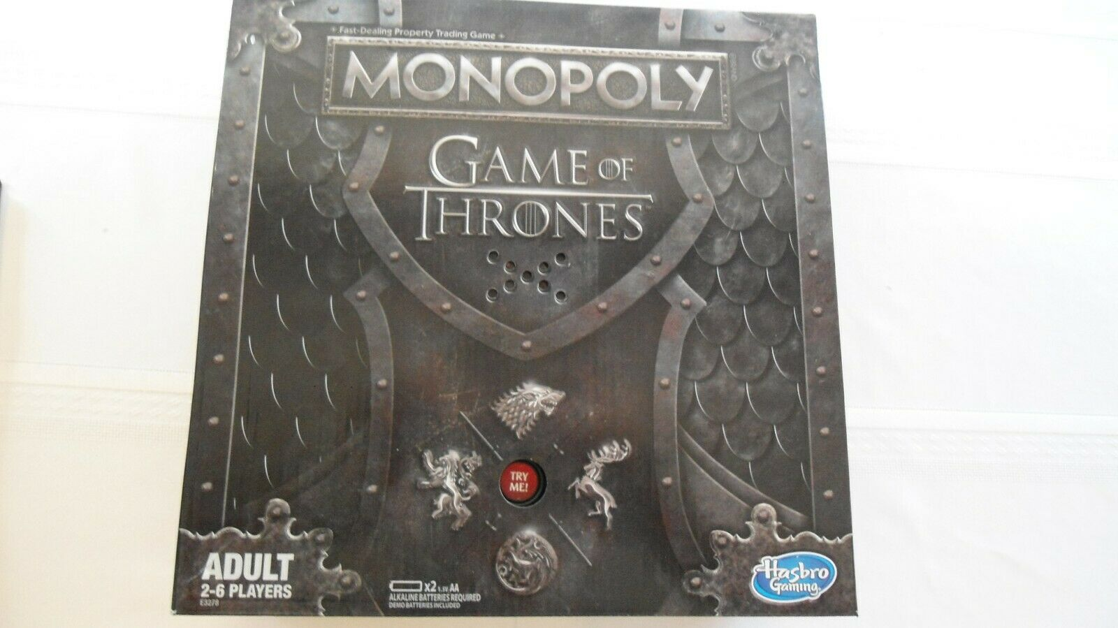 Monopoly Game of Thrones Board Game for Adults Hasbro Board