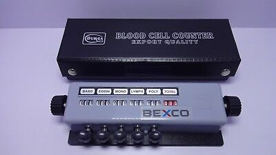 Best Price Blood Cell Counter 5 Keys Case Lab Equipment By Brand Bexco Dhl Ship