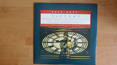 """TEST DEPT. """"VICTORY"""" 12"""" 1987 SOME BIZARRE INDUSTRIAL  EBM WAVE GOTHIC"""