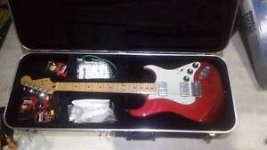 MIM fender stratocaster HH cherry red blacktop Marayong Blacktown Area Preview