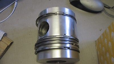 Lister Petter Hr Piston Assembly 3 572-50122  Sized .020 Over