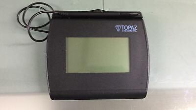 Topaz Signature Capture Pad T-lbk755-bhsb-r 4x3 Backlit Lcd Usb