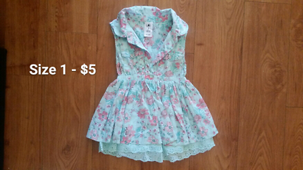 Baby girl clothes and girl items. Prices as marked on photos!
