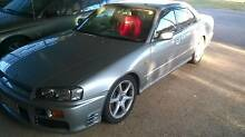 2000 Nissan Skyline R34 GT-T Sedan Brisbane South East Preview