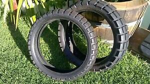 Continental Motorcycle Dirt tyres - To fit most modern Road Bikes Gawler Gawler Area Preview