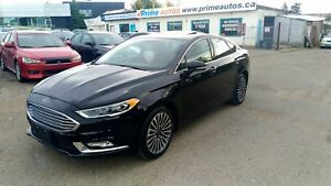 2017 Ford Fusion SE/  Titanium Package  AWD LIKE NEW