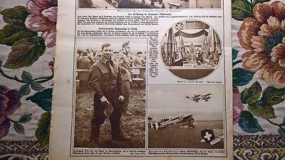 1922 Illustrierte 37 Zürich Flugmeeting Lausanne Mustermesse