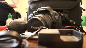 Canon rebel t3i with accessories