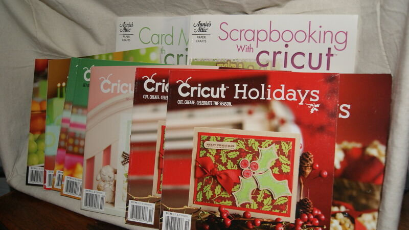 CRICUT SPECIALTY MAGAZINE -  Excellent Condition - Large Variety UPDATED!