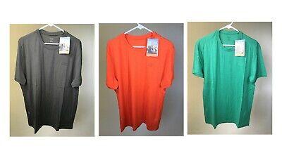 ICEBREAKER 100% Merino Wool Men's Tech T Lite SS Shirt - ORANGE/GREEN - NEW!