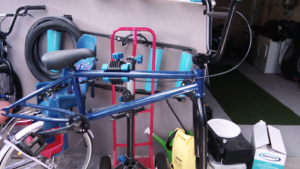 United bmx frame and parts
