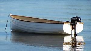 12.5 ft Fibre glass dinghy with trailer an 3.3 Mercury 2 stroke Noosaville Noosa Area Preview