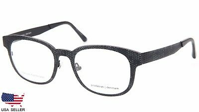 NEW PRODESIGN DENMARK 4385 c.6021 BLACK EYEGLASSES FRAME 51-19-140 B40mm Japan