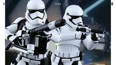 PLASTIC ADULT STAR WARS FIRST ORDER STORMTROOPER LIFE SIZE MOVIE COSTUME ARMOR](Start Wars Costumes)