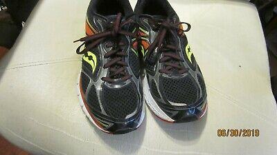 Saucony Power Grid Guide 7 S20227-6 Men Black Sport Athletic Running Shoes Sz 11