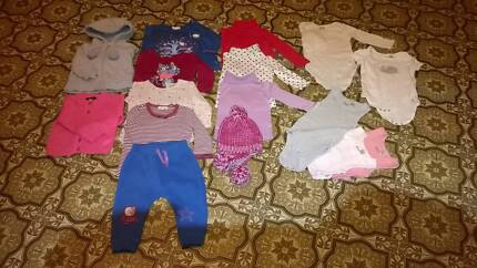 Baby Girl Winter Clothes (12-18m)