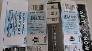 2 x tickets for guns N roses Melbourne Electrona Kingborough Area Preview