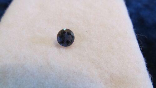 IOLITE ~ Genuine NATURAL LOOSE Gemstone ~ 6mm .74ct Round Shape Faceted Cut Gem