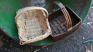 2 quality baskets $10