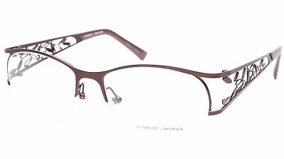 NEW PRODESIGN DENMARK 5131 c.5031 BROWN EYEGLASSES GLASSES 55-17-130 B40mm Japan