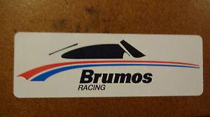 Brumos Porsche Racing Sticker Decal Hurley Haywood 911 914 356 Rally