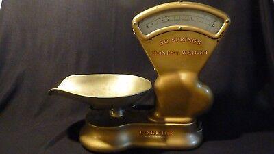"TOLEDO HONEST WEIGHT ANTIQUE SCALE /& COIN MACHINE DECAL  #S-13  TOLEDO  5/"""
