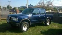 2005 Duel Cab 4x4 Ford Courier Ute Kings Meadows Launceston Area Preview