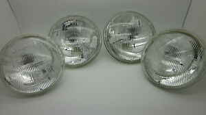 5-3-4-Halogen-Headlight-Set-of-4-Celica-Triumph-Jaguar-Rover-35-Brighter-NEW