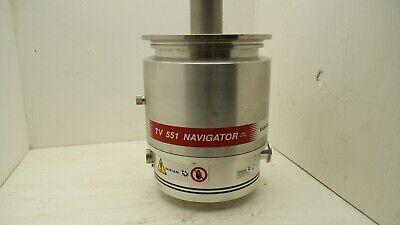 Varian Tv 551 Navigator Turbo Vacuum Nav Pump