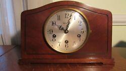 Vintage HERSCHEDE Westminster Chime No. 800 Mantel Clock