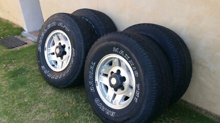 Hilux Surf alloy wheels & tyres. Forrestfield Kalamunda Area Preview