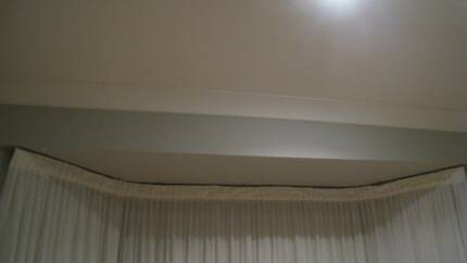 Bay Window extendable curtain track - cord operated. For free. Eastwood Ryde Area Preview