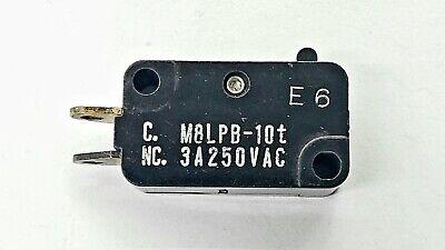 Mulon M8lpb-10t Spst- Off-on Micro Switch 3a 250v Ac