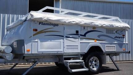 2008 Jayco Outback Flamingo Camper Trailer